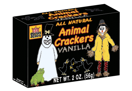 halloween vanilla animal crackers