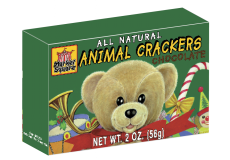 Chocolate Christmas Animal Crackers