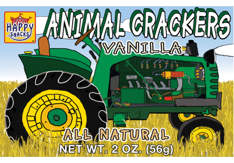 Tractor Animal Crackers